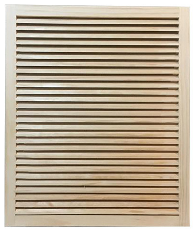 "Wood Return Air Grille, 25""x30"", Standard Square Edge."