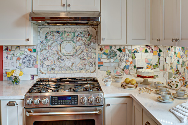 vintage cottage kitchen remodel eclectic new york by