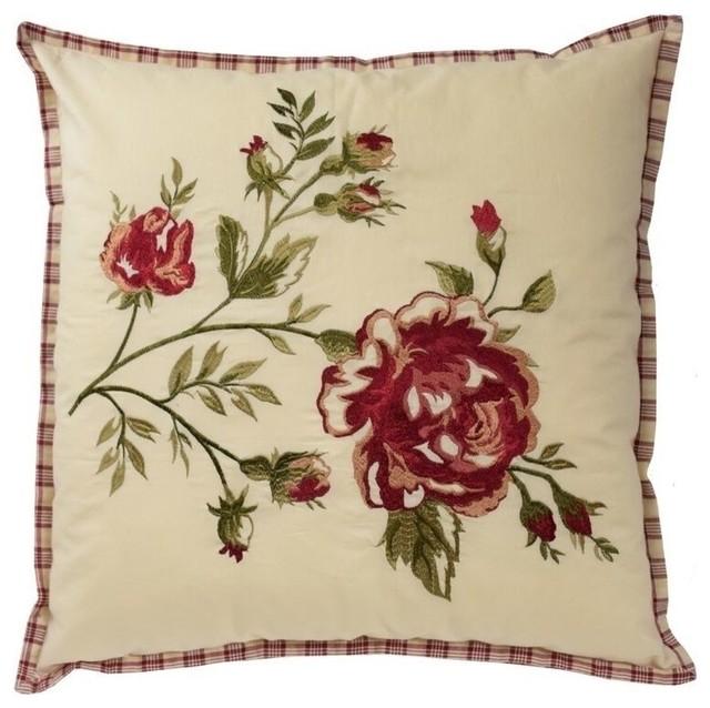 Norfolk Square Decorative Pillow, 20x20.