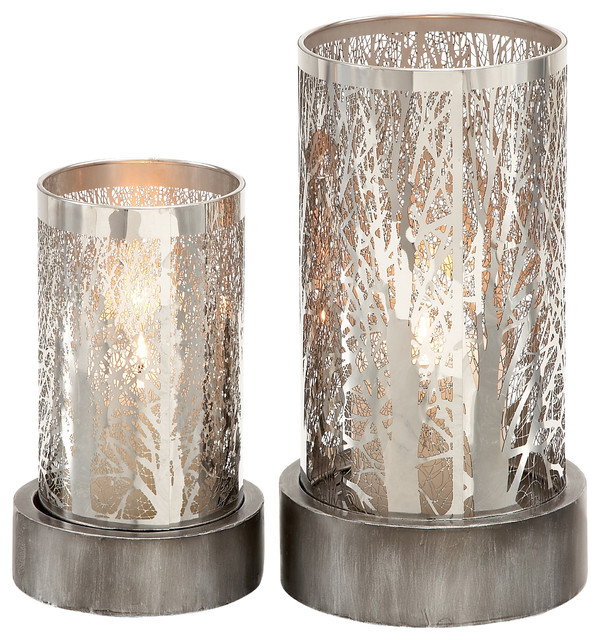 Metal Candle Holder Set of 2 Modern Candleholders  : modern candleholders from www.houzz.com size 600 x 640 jpeg 153kB