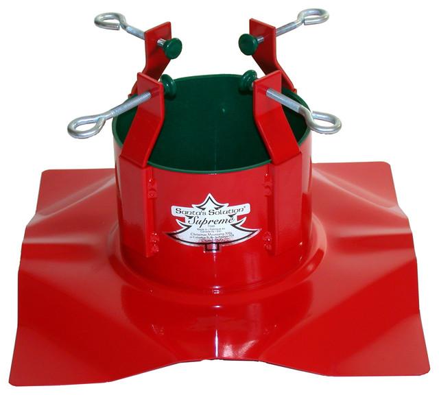 Santa's Solution Supreme Tree Stand - Contemporary - Christmas ...