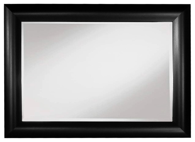 Wall Mirror 20X30 - Black - Wall Mirrors - by Framed Goods