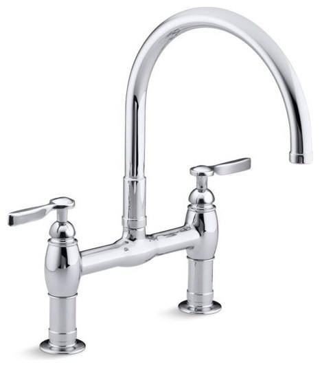 Kohler Parq Deck-Mount Kitchen Faucet w/ 9\