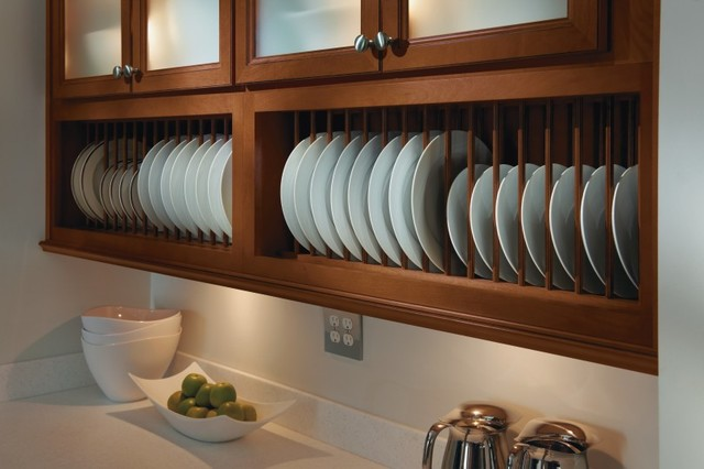 Homecrest Plate Rack Cabinet - Kitchen Cabinetry - Other - by MasterBrand Cabinets, Inc.