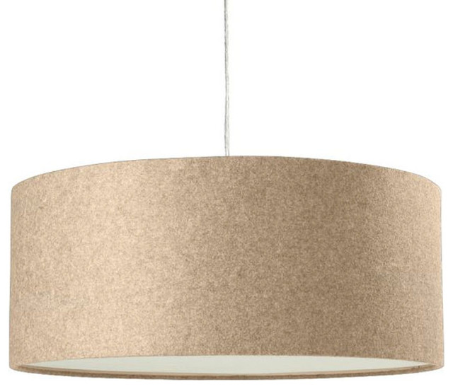 Short Drum Pendant Light