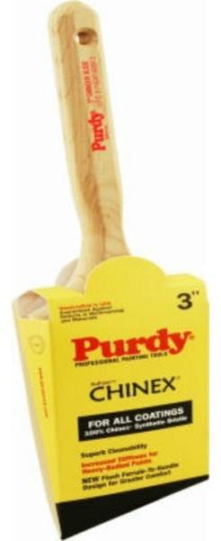 """Purdy® 144152930 Chinex® Glide™ Angular Trim Brush, 3"""", 5/8"""", 3-3/16"""""""