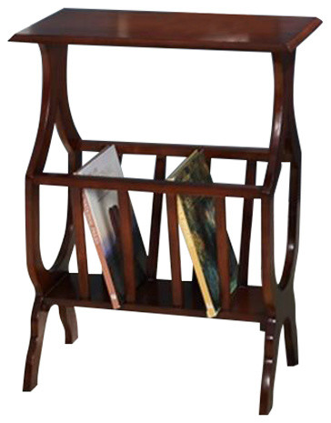 All things cedar hr39 magazine rack table traditional for 13 a table magasin