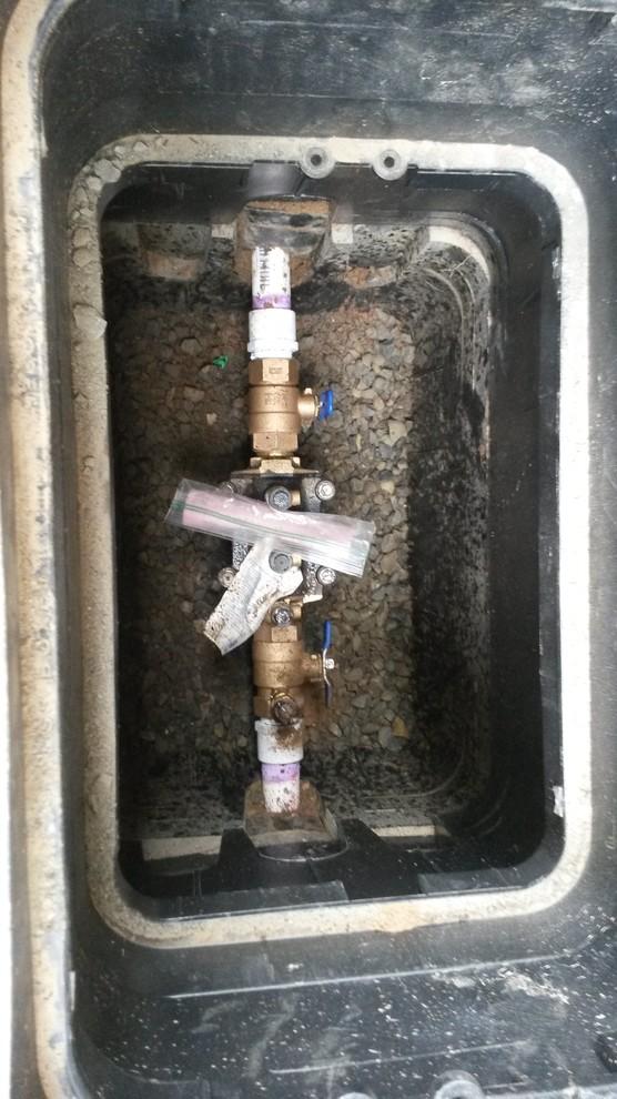 Cedar Hills Backflow & Irrigation Install