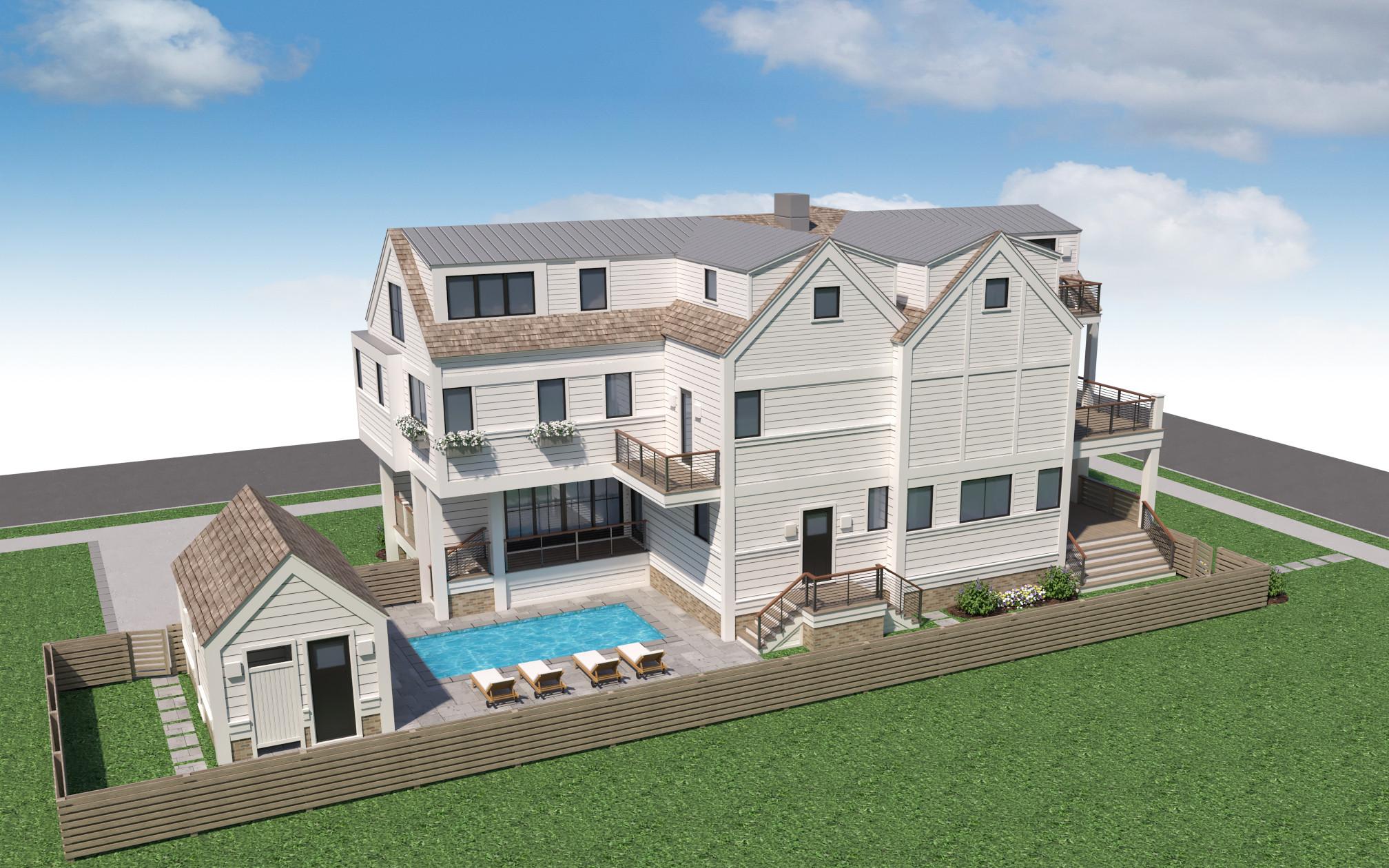 Modern Beach House No. 19