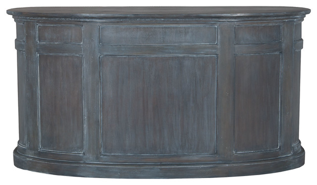 Antique Smoke Farmhouse Garden Kitchen Island, 36x70.