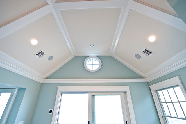 Low Profile Coffered Ceiling