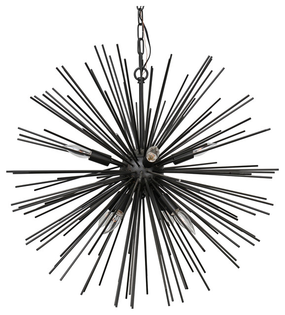 Orion Eight Bulb Chandelier by Kosas Home