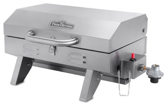 thor kitchen portable stainless steel bbq grill - Thor Kitchen
