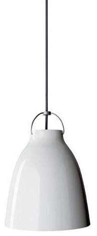 Caravaggio Pendant Lamp, White.