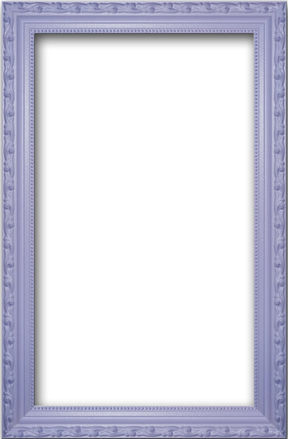 Lilac Solid Wood Ornate Frame - Eclectic - Picture Frames - by Bella ...