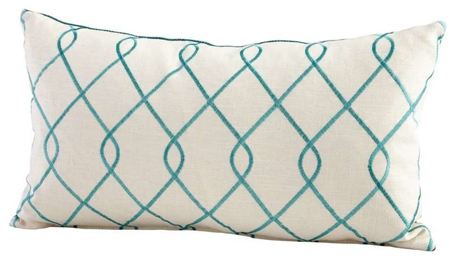 cyan design cyan design 06541 chain link pillow turquoise 17 best images about home amp kitchen wall sculptures on