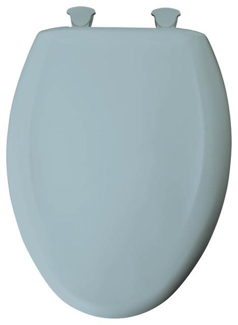 Shop Houzz Bemis Bemis 1200SLOWT 000 Plastic Elongated Slow Close Toilet Se