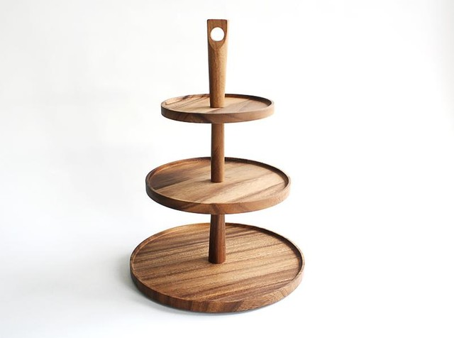 Tier cake stand traditional dessert and stands