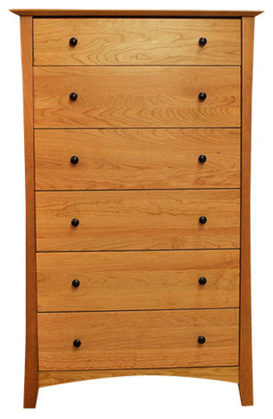 Armstrong 6 Drawer Chest, Natural Cherry