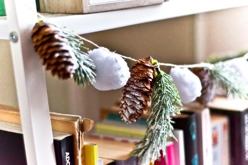 DIY: ma guirlande de Noël
