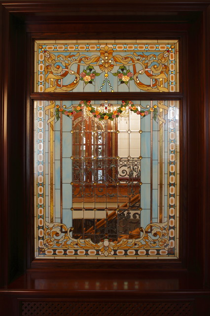 Stained Glass Interiors Eclectic Toronto By Casa Loma Doors