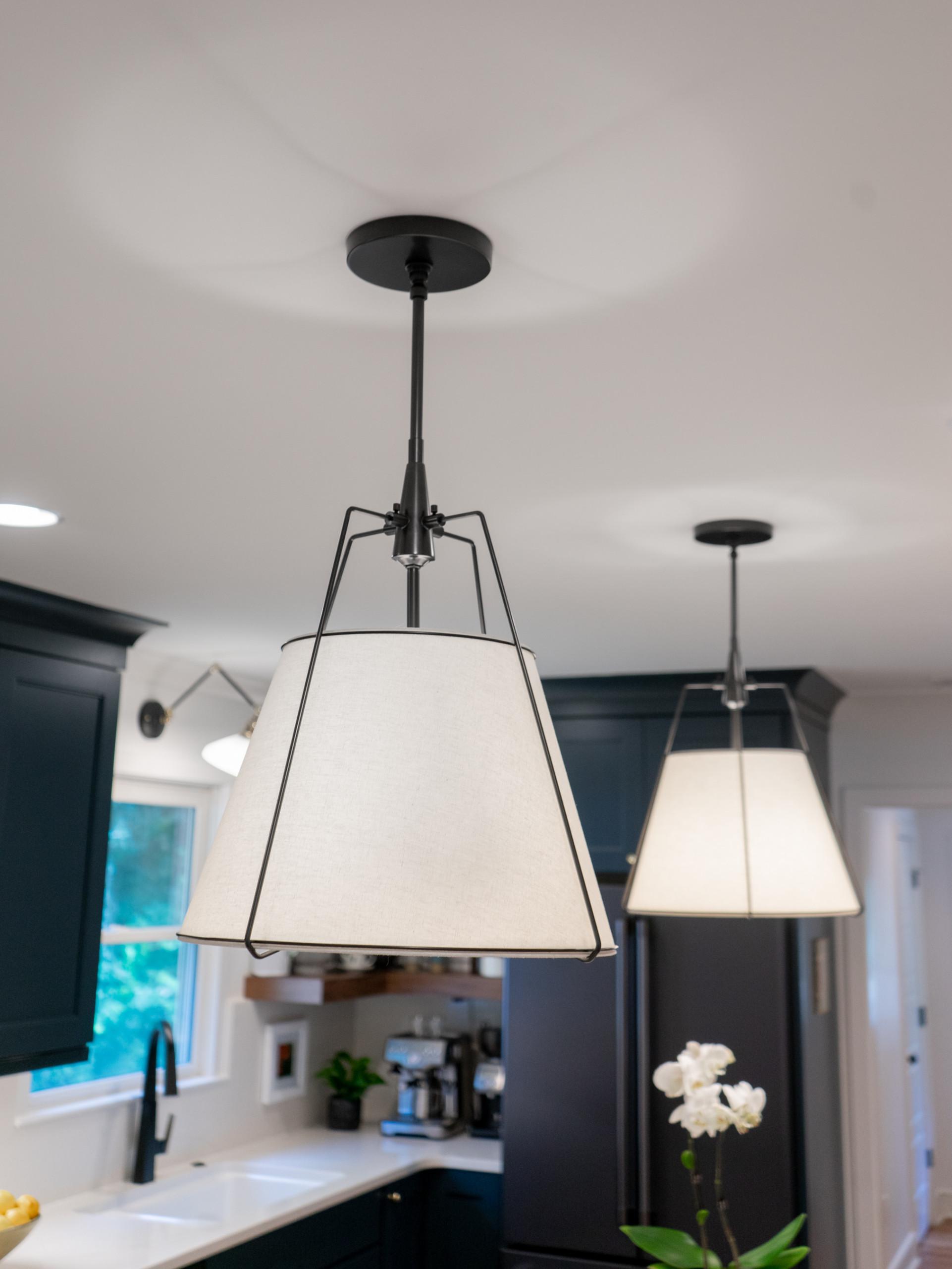 GLENWOOD blue and white kitchen