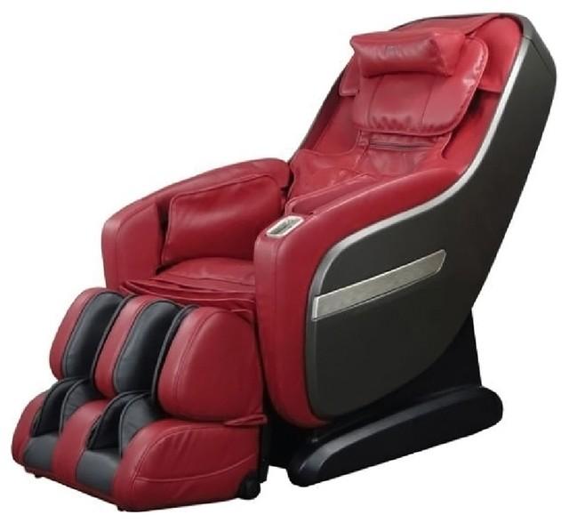 Titan Pro Series, TP  Pro Alpine L Track Massage Chair Zero Gravity Red