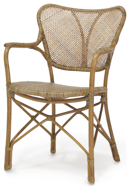 Palecek Jordan Chair Beach Style Dining Chairs By