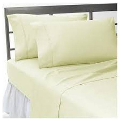 300tc 100 egyptian cotton solid king size flat sheet contemporary flat sheets by world. Black Bedroom Furniture Sets. Home Design Ideas