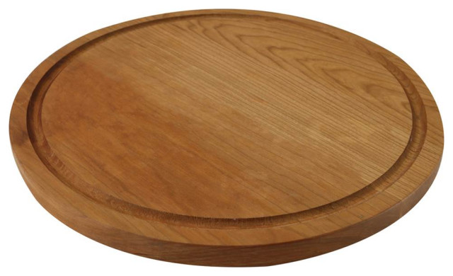 Round Cutting Board in Natural Cherry Finish