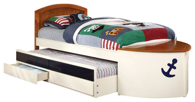 Captain S Quarters Twin Bed Beach Style Kids Beds