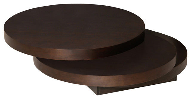 Torno Coffee Table Dark Brown Modern Coffee Tables