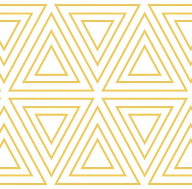 triangles removable wallpaper contemporary wallpaper