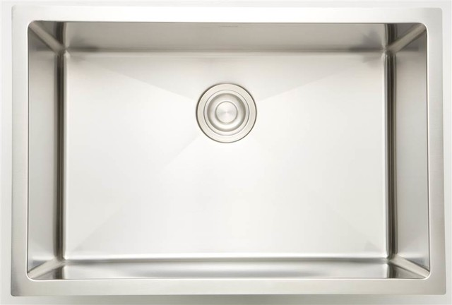 25-in. Laundry Sink for Deck Mount Faucet, Chrome