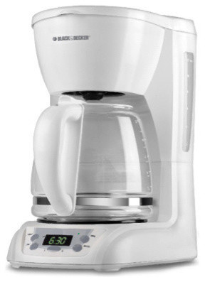 Black And Decker 12-Cup Programmable Coffeemaker.