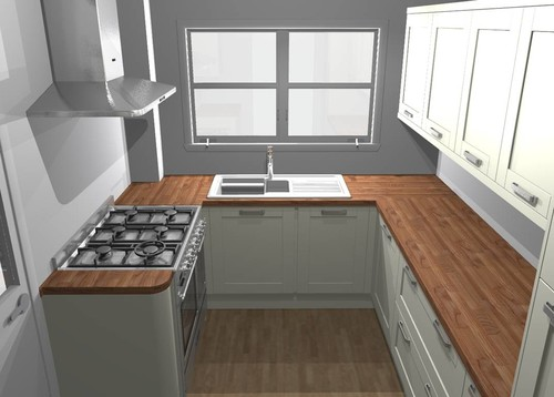 Advice On Kitchen Flooring And Walls - Tiles to go with a grey kitchen