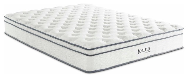 "Jenna 10"" Pillow Top Innerspring Mattress, Twin"