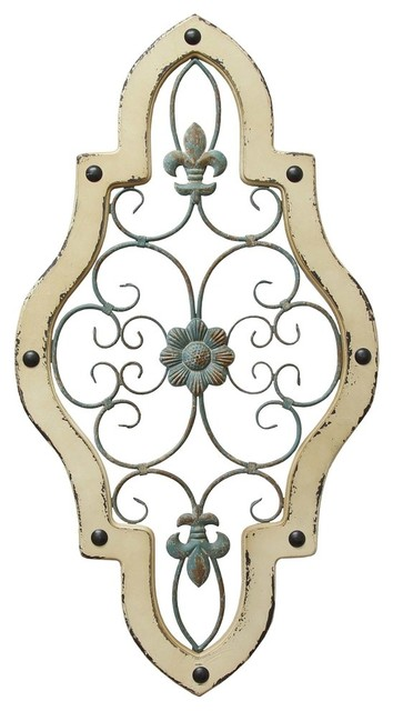 Stratton Home Decor Ornate Panel Wall Decor. -2