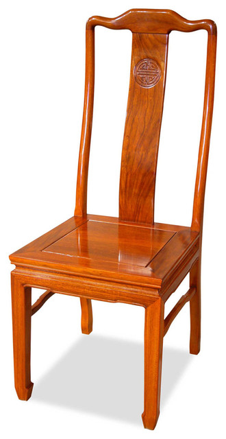 Rosewood Longevity Design Chair - Asian - Dining Chairs - by China