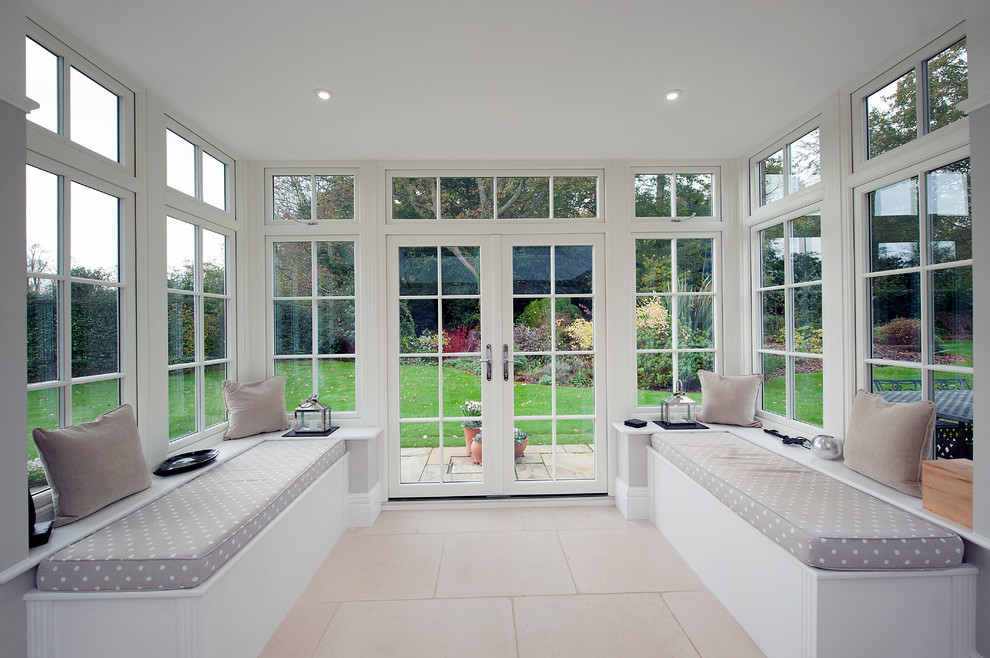 Orangery And Kitchen Extension Contemporary Hampshire By Rococo
