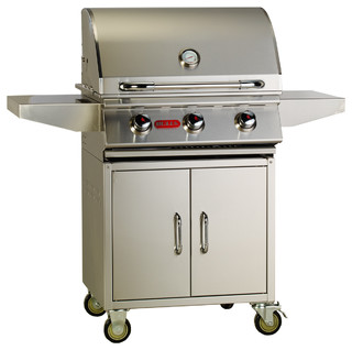 Steer Premium Cart LP - Contemporary - Outdoor Grills - by Bull Outdoor Products