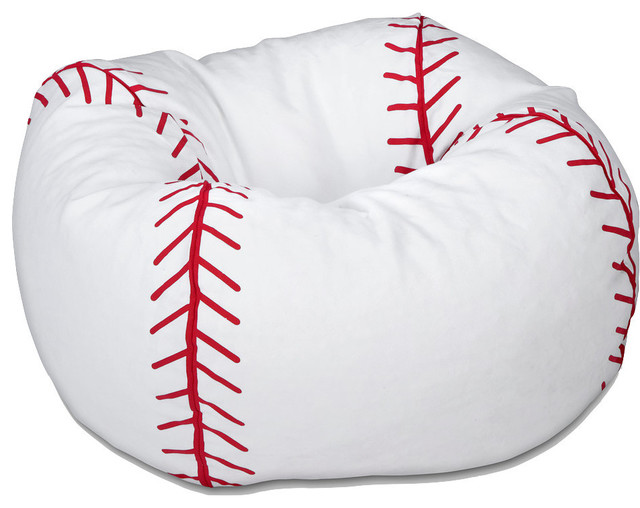 Beau 096 Baseball Matte Bean Bag