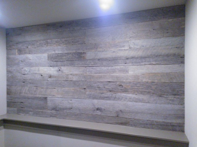 Barn Wood Accent Walls Contemporary Seattle By Diversified Construction And Coatings