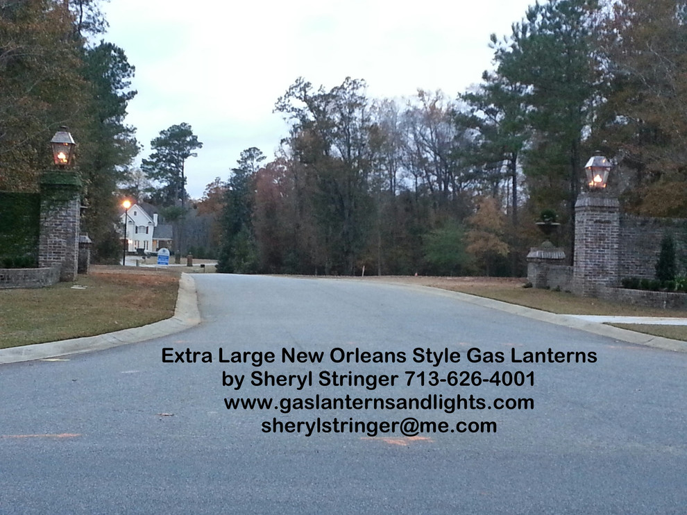 Sheryl's New Orleans Style and Durrell Gas and Electric Lanterns