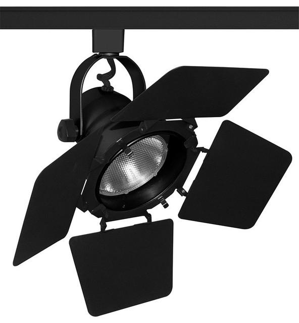 Trac Master T292 Studio Ii Par30 Track Light With Barn