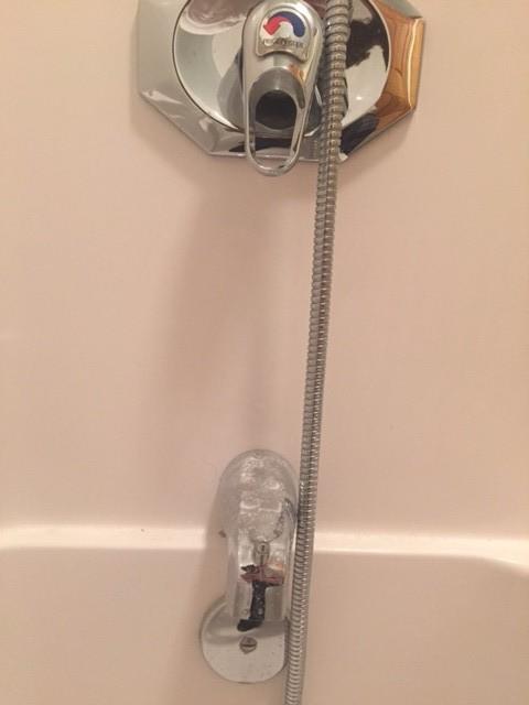 Shower Tub Faucet Combo