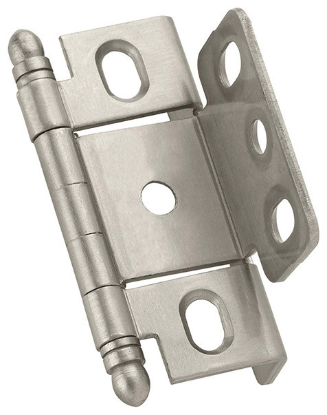 """Amerock Inset Hge Full Wrap 3/4"""" Ball-1 - Transitional - Hinges - by Woodworker's Hardware"""