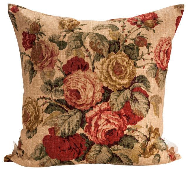 Bedroom Blue Orange Coral Color Bedroom Ideas Bedroom Chairs The Range Hunting Bedroom Decor: Designer Pillow Cover Floral Ralph Lauren Farbic