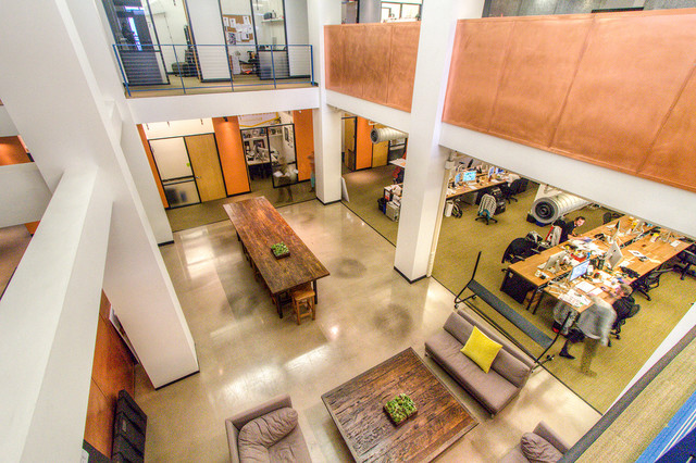 Goodby Silverstein Partners Open Office Workstations Modern Furniture San  Francisco
