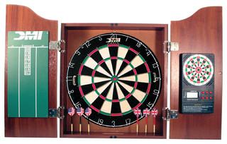 Recreational Dartboard Cabinet - Contemporary - Darts And Dartboards - by ES
